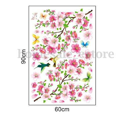 Removable Tree Art Vinyl Quote DIY Flower Wall Sticker Decal Mural Room Decor