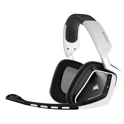 Corsair Gaming VOID Wireless Dolby 7.1 RGB Gaming Headset - White