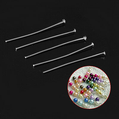 200Pcs Beading Station  Head Pins for Jewelry Making 1.5-Inch/35mm