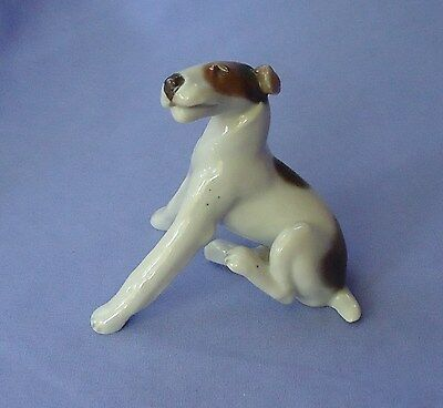 1930s ROSENTHAL  TRI COLOR FOX TERRIER JACK RUSSELL
