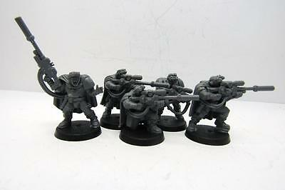 Warhammer 40k Space Marines Space Marine Scout Sniper Squad (w5453)