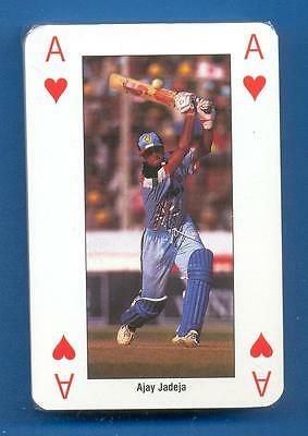 Icc Cricket World Cup England 1999.india Team Playing Cards.sealed