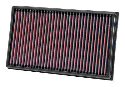 K&N Air Filter Element 33-3005 (Performance Replacement Panel Air Filter)