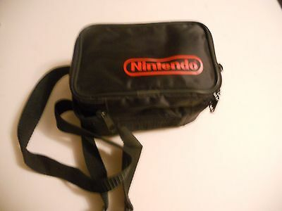 OFFICIAL BLACK NINTENDO GAMEBOY BAG CASE for console and Games