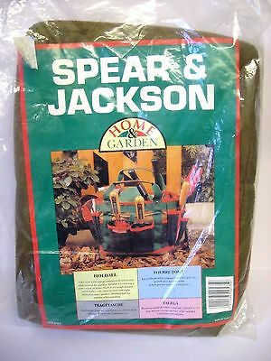 New - Spear & Jackson Gardening Holdall / Tool Bag / Garden Tools Carry Bag