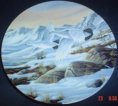 Limited Edition W S George Fine China Collectors Plate DAYLIGHT FLIGHT