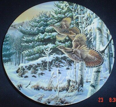 Limited Edition W S George Fine China Collectors Plate EARLY RISERS