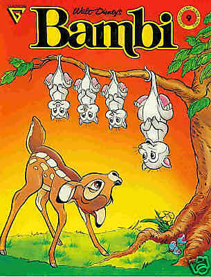 Gladstone Comic Album # 9: Bambi (book adaptation)