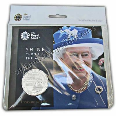 The Queen's Sapphire Jubilee 2017 United Kingdom £5 Brilliant Uncirculated Coin