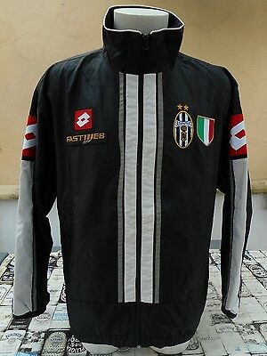 Felpa Calcio Juventus 2002/03 Lotto L Jacket Top Tracksuit Veste Sweat Jacke