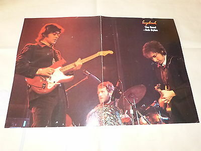 The Band + Bob Dylan !!!!rare French Vintage Poster