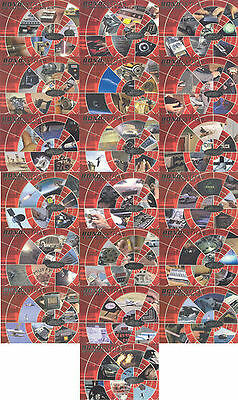 James Bond 40th Anniversary  BOND EXTRAS CHASE  SET BE0001 TO BE0019 19 CARDS