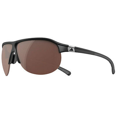 Adidas 2016 TourPro L Sunglasses - Matt Black/Grey Frame - LST polarized silver