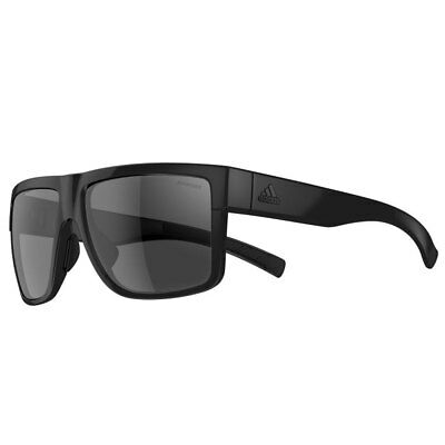 Adidas 2016 3Matic Sunglasses - Black Shiny - Grey Polarised Lenses