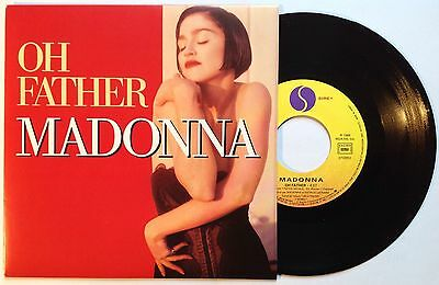 """Madonna  Oh Father  1989 France 7""""   N.Mint/Mint"""