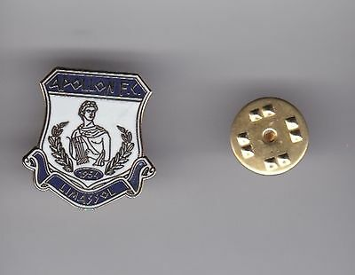 Apollon Limassol ( Cyprus )  -  lapel badge butterfly fitting