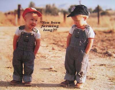 You Been Farming Long Picture Print 12 x 15.25 Young Future Farmers