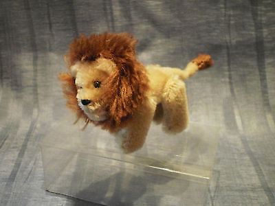"""Vintage Schuco Lion 2.75"""" With Mohair Loss"""