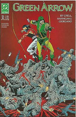 Green Arrow #12 (Dc) (1988 Series)