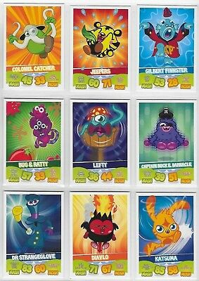 Moshi Monsters Mash Up Series 1 Complete Set of 90 Base + 18 card Puzzle Sets