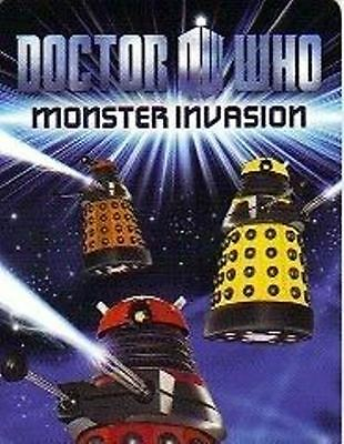 Doctor Who Monster Invasion 130 card Common Set