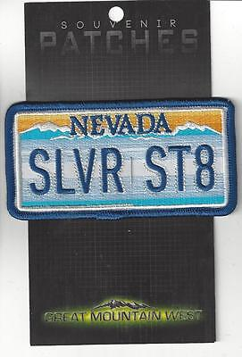State Of Nevada Souvenir Patch - Silver State