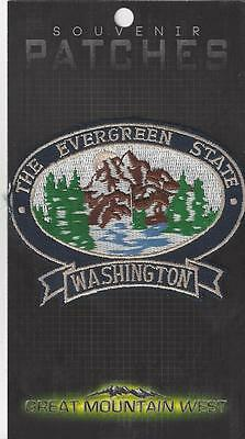 Washington State Souvenir Patch - The Evergreen State