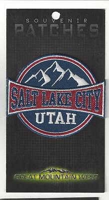 Salt Lake City Utah Souvenir Tourist Patch