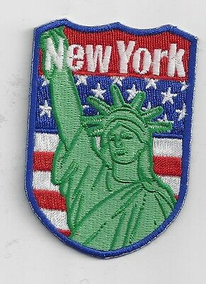 Statue of Liberty New York City Souvenir Patch