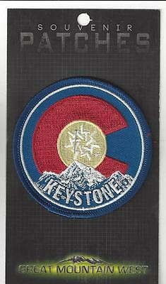 Keystone Colorado Embroidered Souvenir Patch- Skiing, Snowboarding
