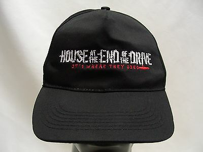 House At The End Of The Drive - Movie Promo - Adjustable Ball Cap Hat!
