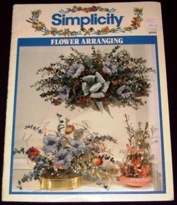 Simplicity Flower Arranging No 3600 (1992)