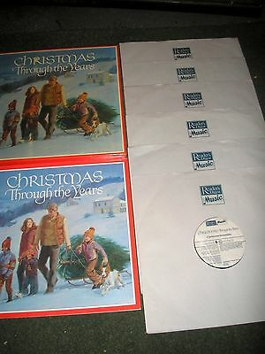 Christmas Throughout The Years-6 Lp Box Set Original Artists R. Digest + Booklet