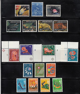 Netherlands Antilles 1960-1978  Semipostal Collection  mint never hinged