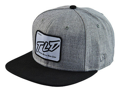 Troy Lee Designs Just Right New Era 9Fifty Original Fit Hat - Heather Gray O/S