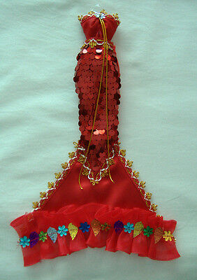 Mermaid Style Barbie Doll Outfit (Red)