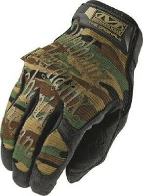 US Mechanix Wear Handschuhe Army woodland camouflage Tactical Line gloves Medium