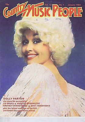 DOLLY PARTON / ED BRUCE / MARVIN RAINWATER Country Music People Jan 1982