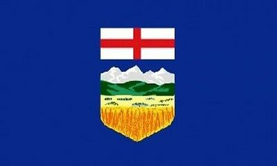ALBERTA FLAG 5' x 3' Canadian Province Canada Provinces State Flags
