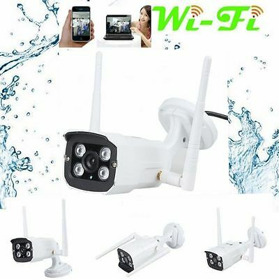 Wireless WiFi 720P HD P2P IP Camera Outdoor Home Security CCTV Cam Night Vision