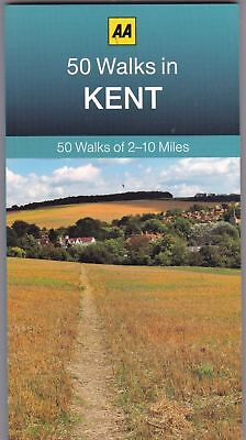 50 Walks In Kent __ Brand New __ Freepost Uk