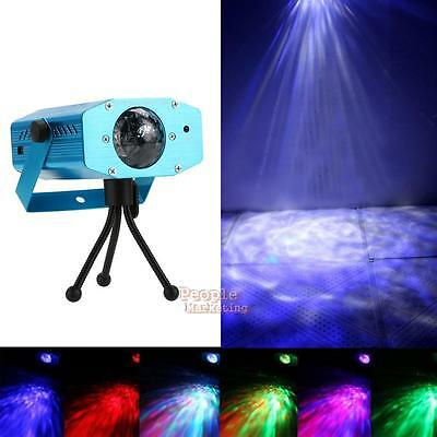 Remote LED Stage Laser Light Water Wave Effect Lighting Party DJ Club KTV Disco