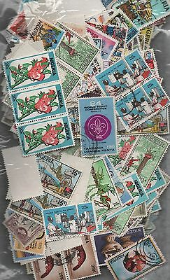 Nigeria Kiloware off paper 50gms fine used excellent selection 200+ stamps