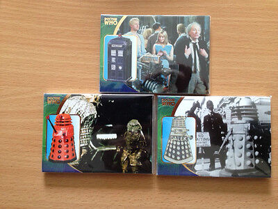 Doctor Who Definitive Series 3 SET OF 14 FOIL STAMPED CHASE CARDS