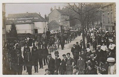 Oxfordshire postcard - Funeral of Superintendent Keal, Chipping Norton - RP
