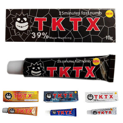 TKTX 35/38/39% More Numbing Cream Piercing Permanent Eyebrow Embroidered Tattoo