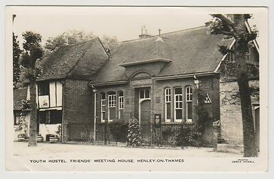 Oxfordshire postcard - Youth Hostel, Friends Meeting House, Henley on Thames