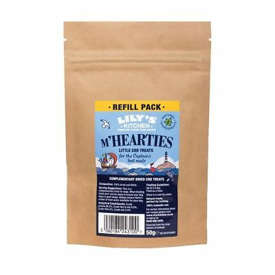 Lily's Kitchen M'Hearties Cod Cat Treat Refill (50g)