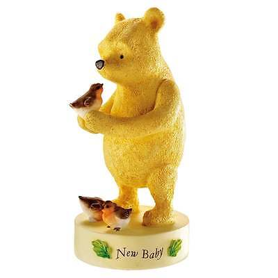 Classic Winnie The Pooh New Baby Figurine New Boxed A20919