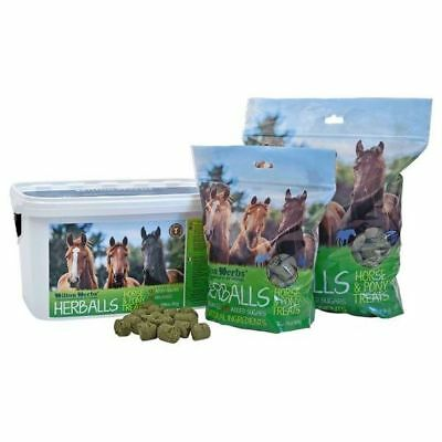 HILTON HERBS HERBALLS horse treats natural herb treat dogs llamas chinchillas